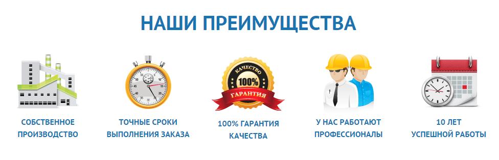 Наши преимущества Киев